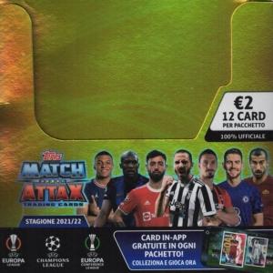 Match Attax 2021/2022 Lamincards